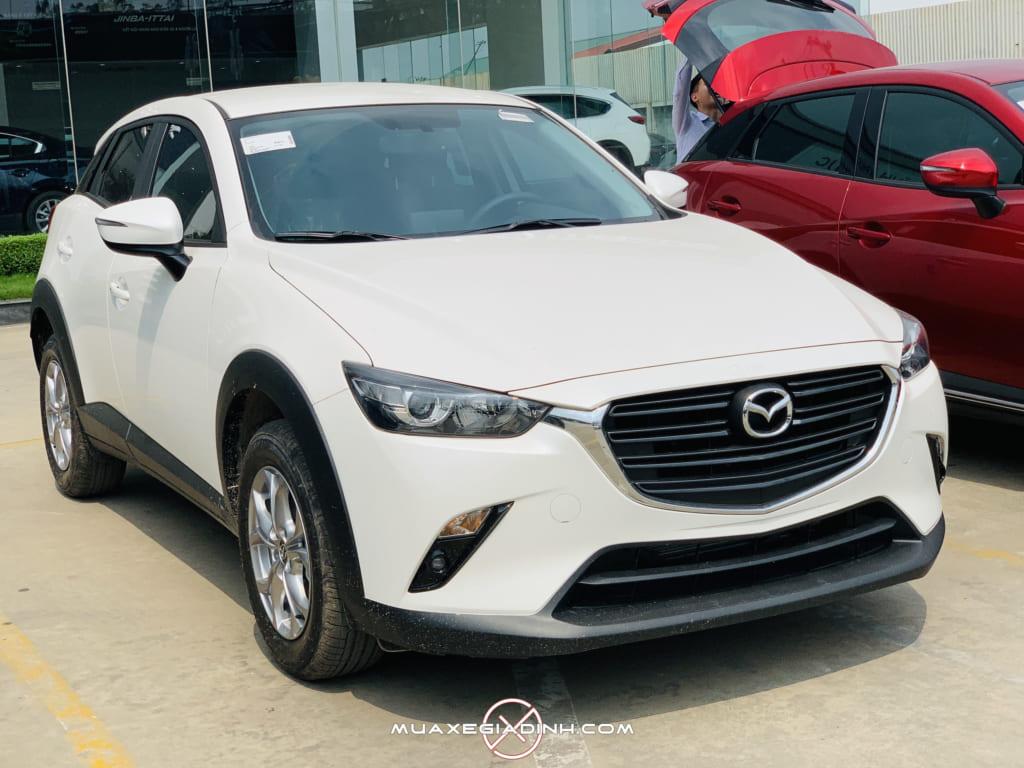 Mazda CX 3 Deluxe trắng