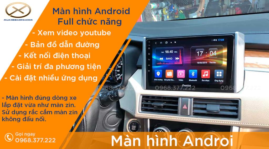 màn hình android vĩnh phúc